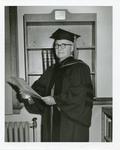 Man in Academic Regalia, Unknown Date by Franklin University