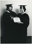 Two Graduates with Diploma, Unknown Date by Franklin University