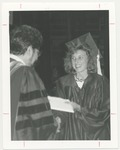 Graduate Receives Diploma, Unknown Date by Franklin University