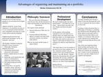 Advantages of Organizing and Maintaining an E-Portfolio