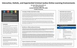 Interactive, Holistic, and Experiential Criminal Justice Online Learning Environment