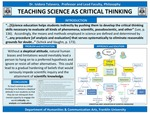 Teaching Science as Critical Thinking