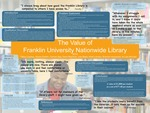 The Value of the Franklin University Nationwide Library
