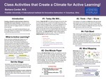 Class Activities that Create a Climate for Active Learning!