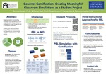 Gourmet Gamification: Creating Meaningful Classroom Simulations as a Student Project