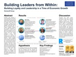 Building Leaders from Within: Building Loyalty and Leadership in a Time of Economic Growth