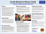 Growth Mindset for Mentors Toolkit by Tasha Booker