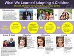What We Learned Adopting 4 children by Joel Gardner