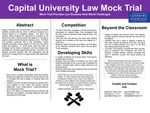 Capital University Law Mock Trial: Mock Trial Provides Law Students Real World Challenges