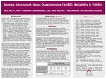 Nursing Attachment Styles Questionnaire ( NASQ ): Reliability & Validity
