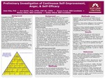 Preliminary Investigation of Continuous Self-Improvement, Anger, & Self-Efficacy