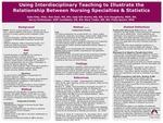 Using Interdisciplinary Teaching to Illustrate the Relationship Between Nursing Specialities & Statistics
