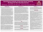 Quantitative Analysis of Nursing Panel Teaching Strategy for Non-Nursing Courses